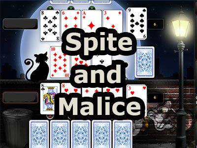 Play Spite and Malice Online, start card game