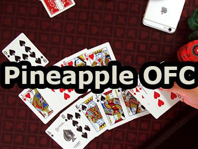Open face chinese poker pineapple OFC online
