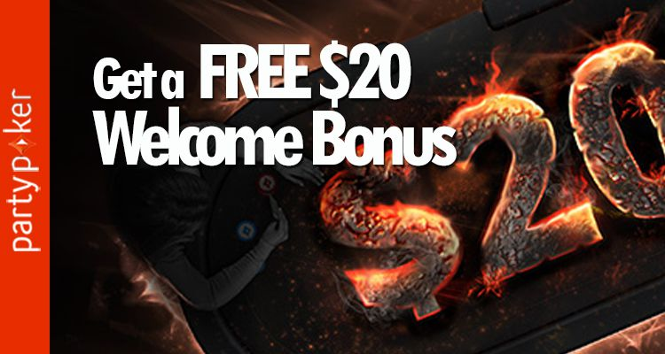 party poker welcome bonus