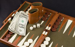 Professional backgammon strategy