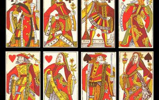 invention of playing cards