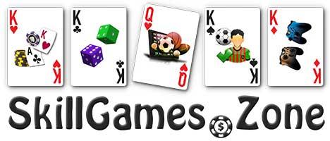 Skill Games Zone Logo